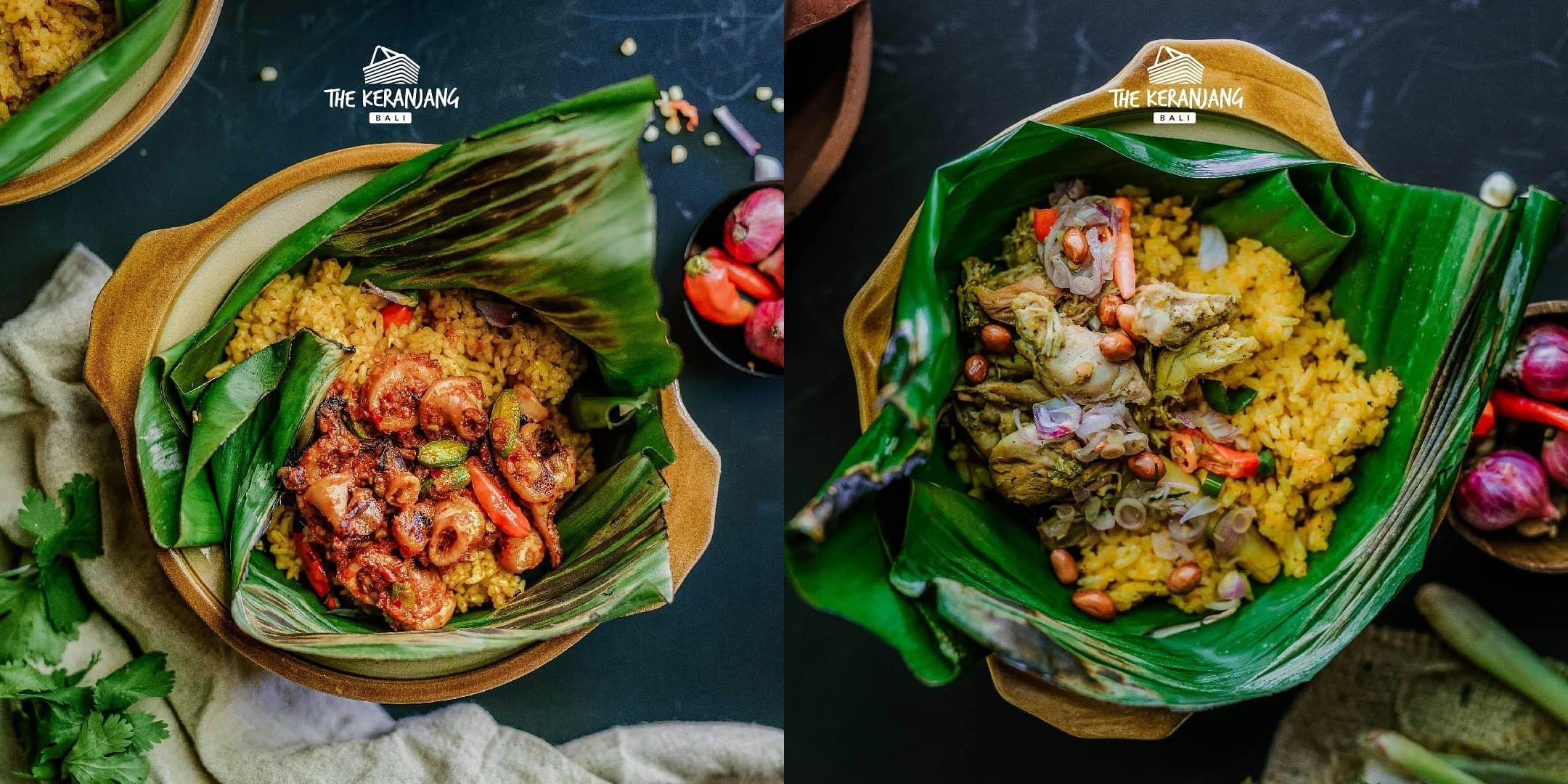 Nasi Metunu di Restoran Keranjang Goerih