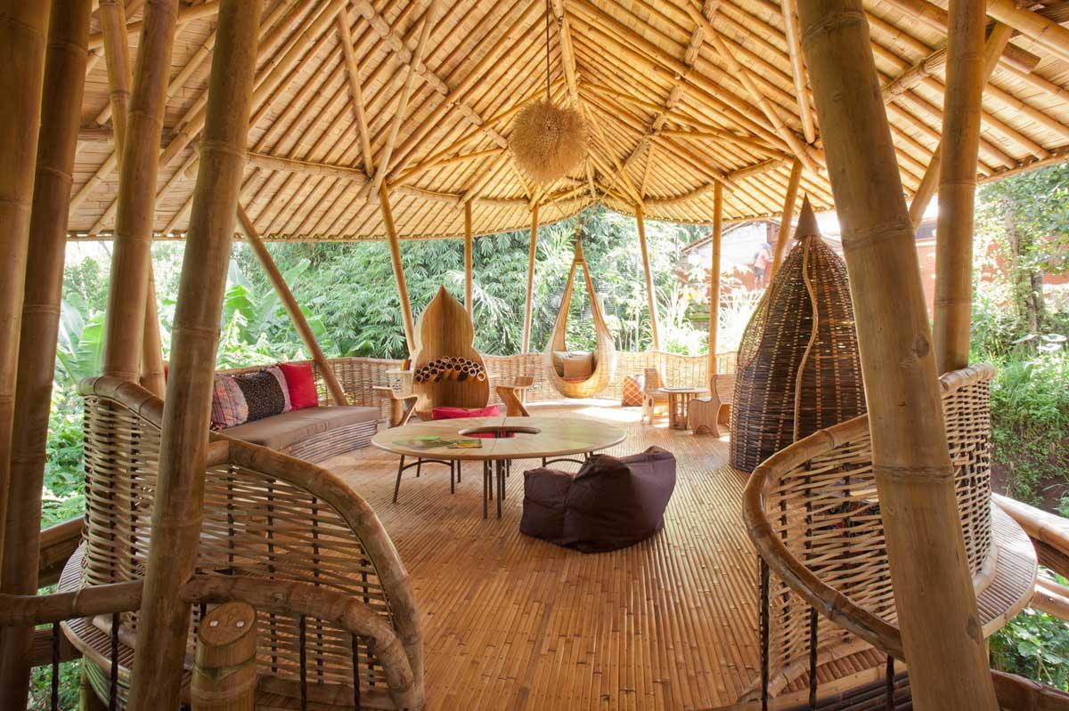 Situs Wisata Bambu Musim Semi Sharma Bali 2020