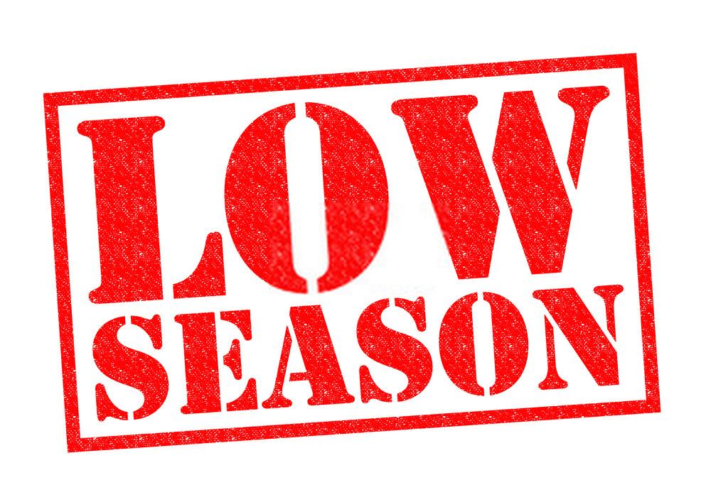 memilih tanggal di saat low season